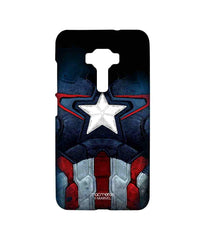 Avengers Captain America Age of Ultron Cap Am Suit Sublime Case for Asus Zenfone 3 ZE552KL
