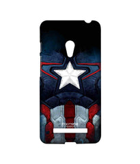 Avengers Captain America Age of Ultron Cap Am Suit Sublime Case for Asus Zenfone 5