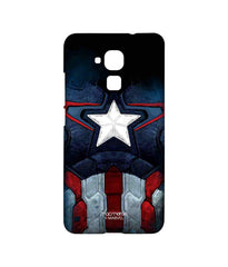 Avengers Captain America Age of Ultron Cap Am Suit Sublime Case for Huawei Honor 5C