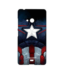 Avengers Captain America Age of Ultron Cap Am Suit Sublime Case for Microsoft Lumia 540