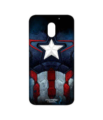 Avengers Captain America Age of Ultron Cap Am Suit Sublime Case for Moto E3 Power