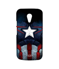 Avengers Captain America Age of Ultron Cap Am Suit Sublime Case for Moto G2