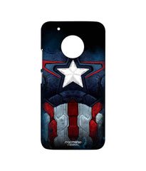 Avengers Captain America Age of Ultron Cap Am Suit Sublime Case for Moto G5 Plus
