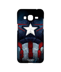 Avengers Captain America Age of Ultron Cap Am Suit Sublime Case for Samsung J3 (2016)