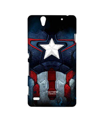 Avengers Captain America Age of Ultron Cap Am Suit Sublime Case for Sony Xperia C4