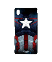 Avengers Captain America Age of Ultron Cap Am Suit Sublime Case for Sony Xperia M4 Aqua