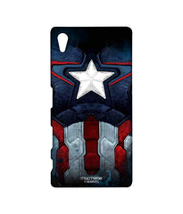 Avengers Captain America Age of Ultron Cap Am Suit Sublime Case for Sony Xperia Z5