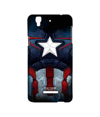 Avengers Captain America Age of Ultron Cap Am Suit Sublime Case for YU Yureka Plus