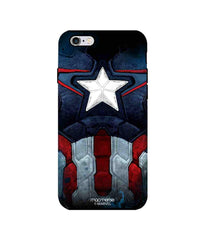 Avengers Captain America Age of Ultron Cap Am Suit Tough Case for iPhone 6 Plus