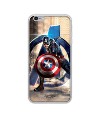 Avengers Captain America Age of Ultron Super Soldier Jello Case for iPhone 6 Plus