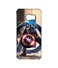 Avengers Captain America Age of Ultron Super Soldier Pro Case for Samsung S6 Edge