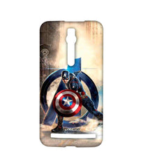 Avengers Captain America Age of Ultron Super Soldier Sublime Case for Asus Zenfone 2