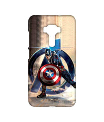 Avengers Captain America Age of Ultron Super Soldier Sublime Case for Asus Zenfone 3 ZE552KL