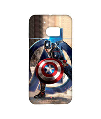 Avengers Captain America Age of Ultron Super Soldier Sublime Case for HTC 10