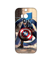 Avengers Captain America Age of Ultron Super Soldier Sublime Case for HTC One M8 Eye
