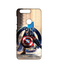 Avengers Captain America Age of Ultron Super Soldier Sublime Case for Huawei Honor 8