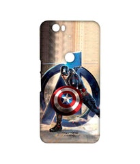 Avengers Captain America Age of Ultron Super Soldier Sublime Case for Huawei Nexus 6P