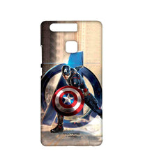 Avengers Captain America Age of Ultron Super Soldier Sublime Case for Huawei P9