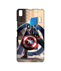Avengers Captain America Age of Ultron Super Soldier Sublime Case for Lenovo A7000