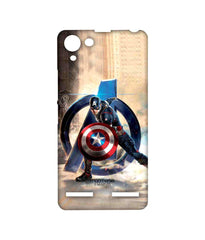 Avengers Captain America Age of Ultron Super Soldier Sublime Case for Lenovo Vibe K5