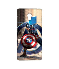 Avengers Captain America Age of Ultron Super Soldier Sublime Case for Lenovo Vibe P1