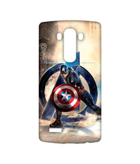 Avengers Captain America Age of Ultron Super Soldier Sublime Case for LG G4