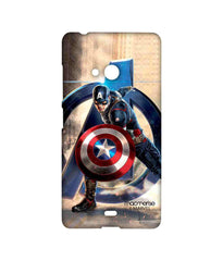 Avengers Captain America Age of Ultron Super Soldier Sublime Case for Microsoft Lumia 540
