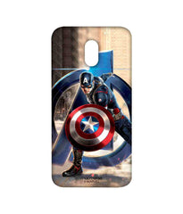 Avengers Captain America Age of Ultron Super Soldier Sublime Case for Moto E3 Power