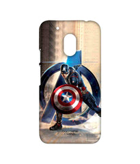 Avengers Captain America Age of Ultron Super Soldier Sublime Case for Moto G4 Play