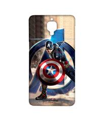 Avengers Captain America Age of Ultron Super Soldier Sublime Case for OnePlus 3