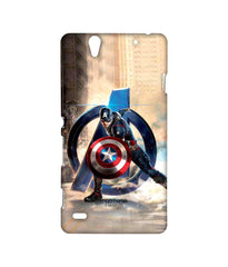 Avengers Captain America Age of Ultron Super Soldier Sublime Case for Sony Xperia C4