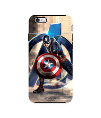 Avengers Captain America Age of Ultron Super Soldier Tough Case for iPhone 6 Plus