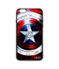 Avengers Captain America Assemble Captains Shield Decoded Lite Case for iPhone 6 Plus