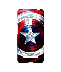 Avengers Captain America Assemble Captains Shield Decoded Sublime Case for Asus Zenfone 5