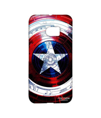 Avengers Captain America Assemble Captains Shield Decoded Sublime Case for HTC 10
