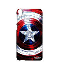 Avengers Captain America Assemble Captains Shield Decoded Sublime Case for HTC Desire 820