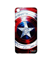 Avengers Captain America Assemble Captains Shield Decoded Sublime Case for HTC Desire 826