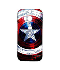 Avengers Captain America Assemble Captains Shield Decoded Sublime Case for HTC One M8 Eye