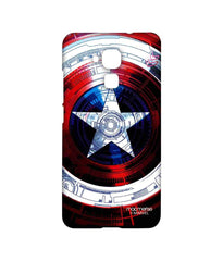 Avengers Captain America Assemble Captains Shield Decoded Sublime Case for Huawei Honor 5C