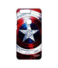 Avengers Captain America Assemble Captains Shield Decoded Sublime Case for Huawei Honor 8