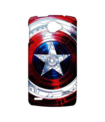 Avengers Captain America Assemble Captains Shield Decoded Sublime Case for Lenovo S920