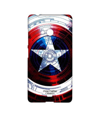 Avengers Captain America Assemble Captains Shield Decoded Sublime Case for Microsoft Lumia 540