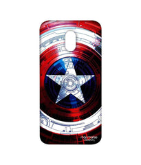 Avengers Captain America Assemble Captains Shield Decoded Sublime Case for Moto E3 Power