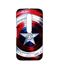 Avengers Captain America Assemble Captains Shield Decoded Sublime Case for Moto G Turbo