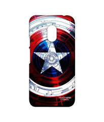 Avengers Captain America Assemble Captains Shield Decoded Sublime Case for Moto G4 Play