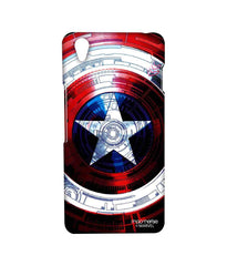 Avengers Captain America Assemble Captains Shield Decoded Sublime Case for OnePlus X
