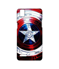 Avengers Captain America Assemble Captains Shield Decoded Sublime Case for Oppo F1