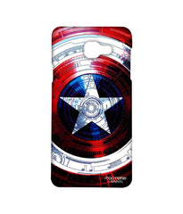 Avengers Captain America Assemble Captains Shield Decoded Sublime Case for Samsung A7 (2016)