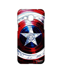 Avengers Captain America Assemble Captains Shield Decoded Sublime Case for Samsung J3 (2016)