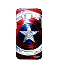 Avengers Captain America Assemble Captains Shield Decoded Sublime Case for Samsung J5